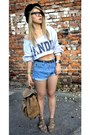 New-look-shoes-parfois-bag-river-island-shorts-flyhigh-sweatshirt