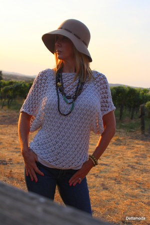 Adesso bracelet - Area Forte boots - Paige jeans - Eric Javitas hat
