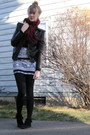 Brown-f21-jacket-black-aa-skirt-black-minnetonka-boots