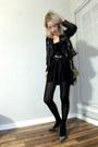 Black-marni-dress-black-mango-jacket-yellow-10-crosby-bag