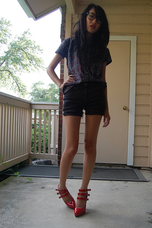 American Apparel shorts - lanvin shoes - Urban Renewal shirt