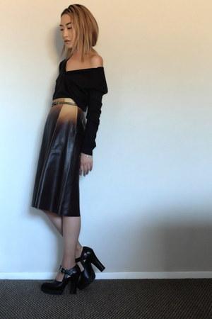 Prada skirt - Miu Miu pumps