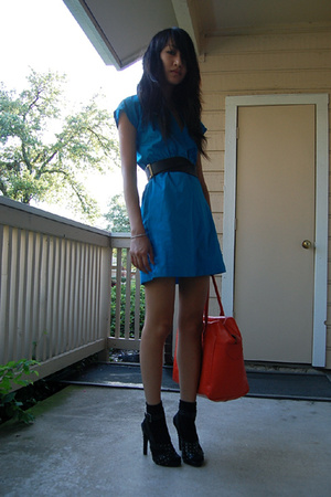 American Apparel dress - joseph abboud belt - Marc by Marc Jacobs purse - Givenc