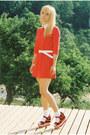 H-m-dress-romwe-wedges-collar-diy-accessories