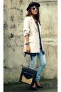 Beige-archiveclothingmultiplycom-blazer-black-golddotmultiplycom-bag-white-s