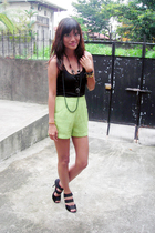 H&M top - thrifted shorts - from Thailand shoes