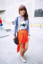 mullet Sarah Tirona skirt - Shoe Etiquette boots - Penshoppe jacket