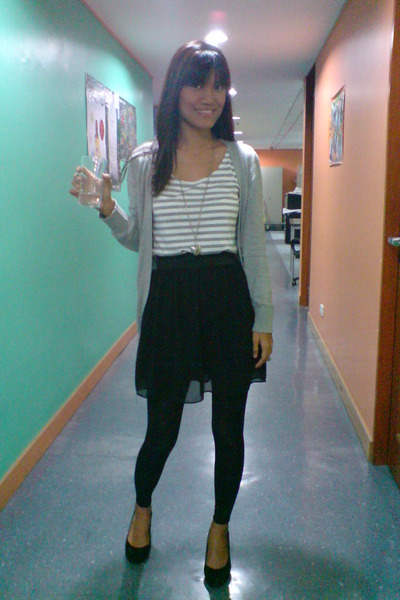 Forever21 sweater - from Thailand dress - from SM tights - vintage shoes