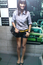 Mossimo shirt - from St Francis shorts - from SM belt - random find shoes - from
