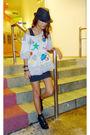 Gray-tsumori-chisato-top-black-h-m-dress-black-ichigo-bow-shoes