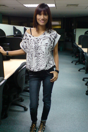 from Thailand shirt - Penshoppe jeans - ichigo shoes - from Thailand blazer