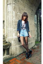 dark gray from Thailand blazer - black vintage boots