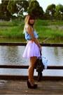 Sky-blue-miss-selfridge-shirt-light-purple-beginning-boutique-skirt