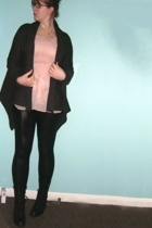 Mario Serrani sweater - blouse - American Apparel pants - boots