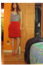 skirt - forver 21 top - go jane shoes
