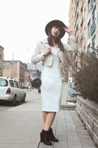 Nasty Gal hat - asos dress - Urban Outfitters jacket