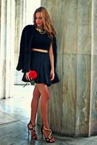 black gold Giuseppe Zanotti heels