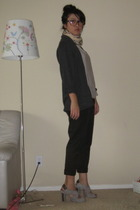 BDG cardigan - shirt - Urban Outfitters pants - belt - no 704 b shoes