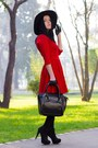Voguec-dress-romwe-hat-sammydress-bag-romwe-gloves