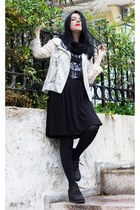 romwe dress - Sheinside jacket