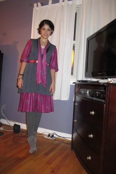 purple Adorevintage dress