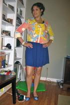 Target jacket - She-Bible dress - J Crew shoes