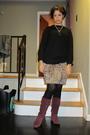 Yellow-forever-21-skirt