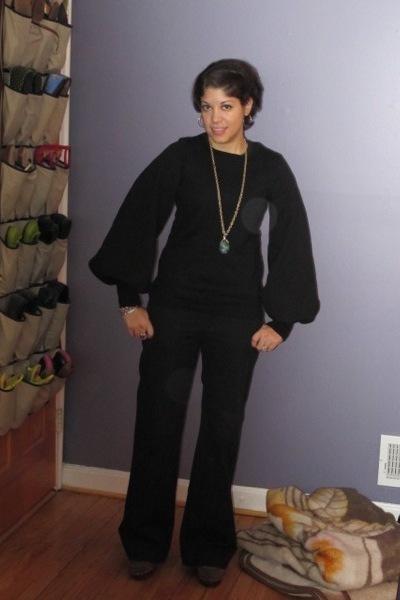 black she bible sweater