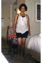 She-Bible t-shirt - Target shorts