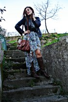 Zara dress - Zara boots - Zara jacket - Primark bag