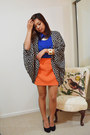 Carrot-orange-asoscom-skirt-blue-temt-blouse