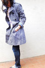 Studio Pelle coat - citizens of humanity jeans - Gap sweater - Forever 21 shirt
