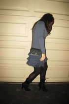 Norsdstrom sweater - H&M skirt - Chanel purse