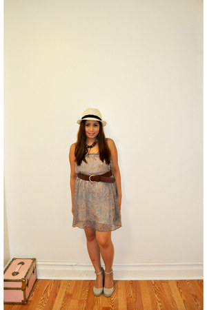 Tommy Hilfiger shoes - flowy matt m dress - H&M belt