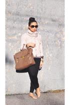 Forever 21 scarf - pashli satchel 31 Phillip Lim bag - zebra print J Crew blouse