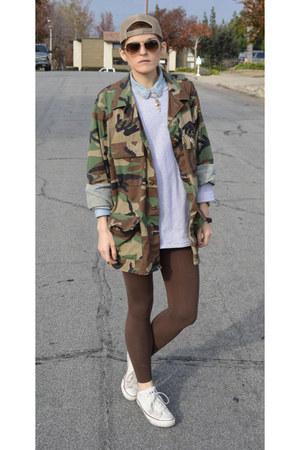 heather gray sweatshirt unknown sweatshirt - military jacket army surplus jacket