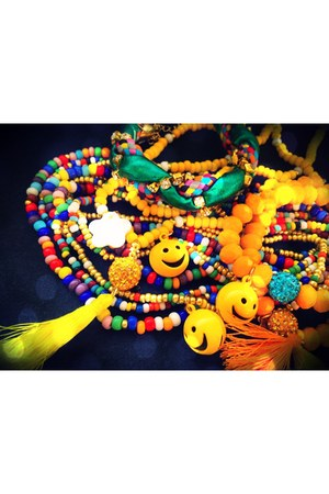 yellow summer jewels petqa bracelet