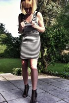 24hours dress - Steve Madden heels