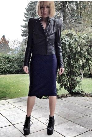 navy pencil skirt upper palatinate rocks skirt