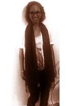 Forever 21 scarf - kohls jeans - shirt
