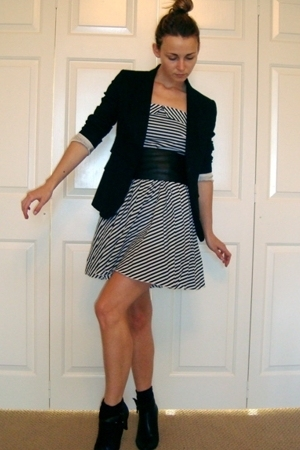 Primark dress - joseph blazer - Belle by Sigerson Morrison shoes