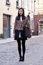 White-chloe-dress-brown-zara-coat-black-wolford-tights-black-zara-bag
