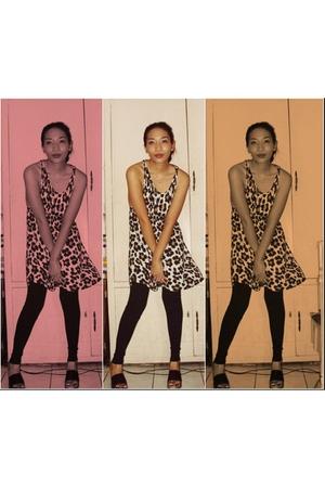 black -- tights - black