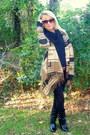 Camel-tribal-forever-21-sweater-black-skinny-gap-jeans