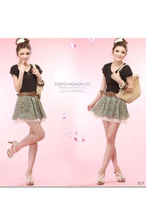 green Tokyo Fashion skirt