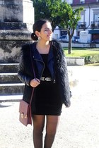 H&M dress - H&M jacket - Primark bag - Zara vest - Zara belt
