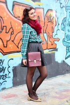 Primark bag - Zara shoes - Zara shirt - Bershka skirt