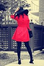 Black-united-nude-boots-black-zara-hat-red-trench-givh-shyh-jacket-black-c