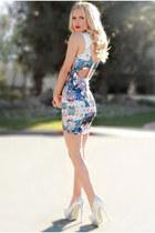 PINKBASIS dress - PINKBASIS heels