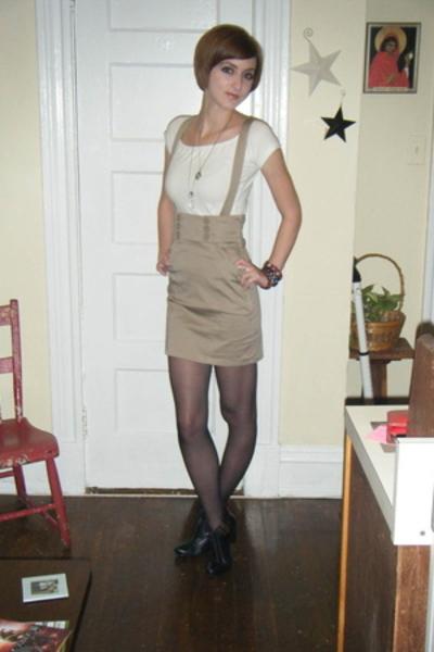 H&M skirt - JCrew top - Linea Paolo shoes